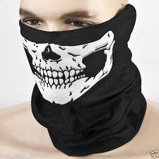 Skeleton Skull Face shield Mask Biker Balaclava Call of Duty Costume Game CS