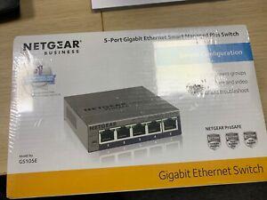 Netgear 5-Port Gigabit Ethernet Smart Managed Plus Switch - GS105E-200UKS