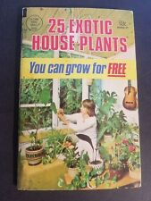 25 Exotic House Plants You Can Grow For Free 1985 Globe Communications Mini-Mag