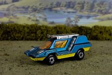 R&L Diecast, Playworn Matchbox No.68 Cosmobile Space Age Vehicle Blue/Yellow