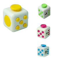 Magic Fidget Cube Anxiety Stress Relief Focus Toy Gift Adults Attention Therapy
