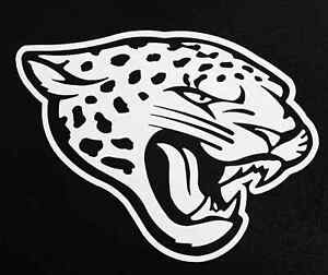 "2X Jacksonville Jaguar 5"" NFL Football Team Logo Car Window Vinyl Decal Sticker"
