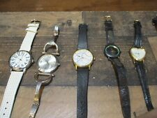 Lot of 21 womens watches wristwatches battery/windup wittnauer timex more nr