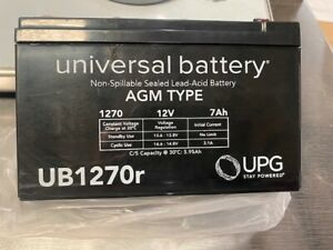 UB1270r Universal replacement battery UPG  12v 7ah (NEW)