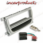 Ford Focus Silver CD Radio Plate Stereo Facia Fascia Adaptor Panel Fitting Kit