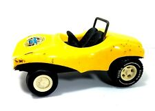 Vintage Tonka Fun Buggy Distressed Pressed Metal Yellow Dune Buggy Toy Car USA