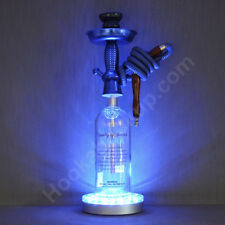 Absolut Vodka 1L Bottle Hookah With 16 Color Changing LED And Remote Shisha