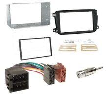 Kit mascherina adattatore autoradio 2 DIN plancia per Smart Car ForTwo dal 2010