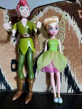 Disney Peter Pan & Tnikerbell Dolls Figures Toys