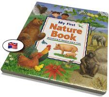 My First Nature Book - wundervolles Pappbilderbuch mit heimischen und Wildtieren