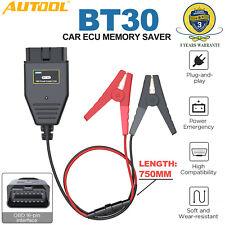 Coche conector OBD2 enchufe eléctrico de emergencia de ahorro de memoria ECU Pinza Cocodrilo