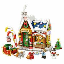 NEU Bausteine Weihnachten Häuser Mini Häuser Konstruktions Spielzeug 788PCS DE