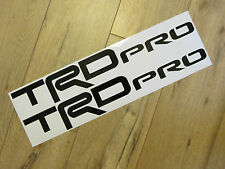 "TWO 8"" TRD PRO DECALS  TOYOTA TRUCK 4X4  VINYL DECALS  PICK COLOR FREE SHIP"