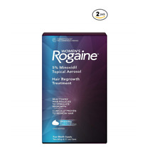 Women's Rogaine Hair Regrowth Treatment -8 Month Supply-Foam Expiration **/2023