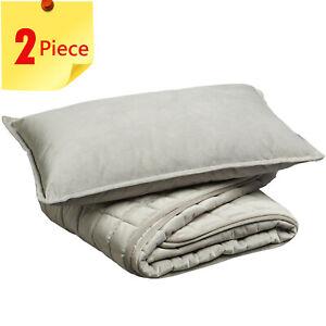 Jiggle & Giggle Cot Comforter Padded Grey Velvet With Filled Breakfast Cushion