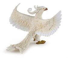 WHITE PHOENIX  BIRD FANTASY CREATURE BY PAPO REF 36015 - BRAND NEW WITH TAGS