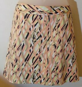 Women's Lady Hagen Collection Fashion Skort Peach Bud Size 12 NWT