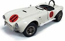 "1965 Shelby Cobra race car Elvis ""Spinout"" movie 1:18 Auto World 104"
