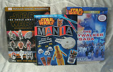 Star Wars Collection Of 3 Craft, Activity, Facts & Fun Books ~ NEW