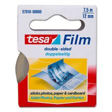 Tesa 57910 Doppelklebeband (0,40€/1m) 2 Rollen 7,5m x 12mm