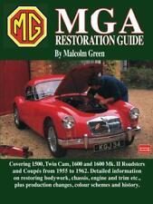 MGA Restoration Guide de Malcolm vert Livre de poche 9781855203020 NEUF