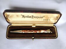 More details for rare mordan everpoint marbled mechanical propelling pencil boxed excellent 1930s