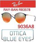 Occhiali da Sole RAYBAN RB 3578 9036A8 Sunglasses Ray Ban Vintage Round Unisex