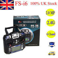 NEW Flysky FS-i6 2.4GHz 6CH AFHDS Radio System Transmitter Receiver for RC Plane