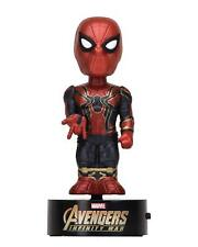 Marvel Infinity War SPIDER-MAN Solar Body Knocker OVP NECA Bobble Spiderman