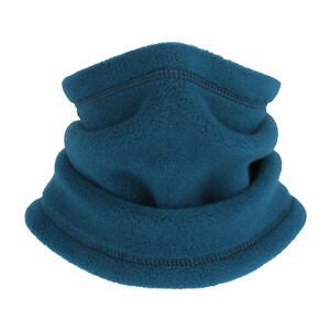 Kids Thermal Neck Gaiter Winter Fleece Tube Scarf Thick Face Mask for Girls&Boys
