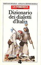 """Dizionario dei dialetti d'Italia n°4 / R-Z - All. """"La domenica del corriere"""""""