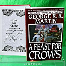 Rare A FEAST FOR CROWS George RR Martin game of thrones Youll UNPUBLISHED COVER