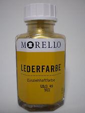 (12,48�'�/100ml) Lederfarbe Morello Einziehhaftfarbe zum färben GOLD 40 ml