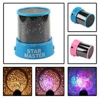 Magic LED Light Projector Star Sky Baby Kid Night Mood Lamp Christmas Gift