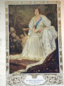 London Illustrated News Coronation Edition 1937 Page from Book Queen Elizabeth I