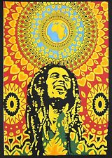 Bob Marley Tapestry Wall Hanging Throw Poster Hippie Hippy Flag Decor 40*30 Boh