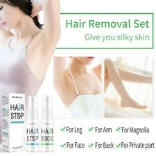 Powerful Permanent Hair Removal Spray Stop Hair Growth Inhibitor Remover bar