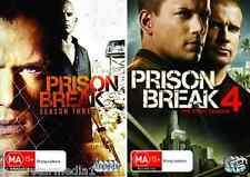 Prison Break COMPLETE Season 3 & 4 : NEW DVD