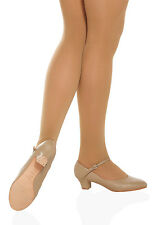 So Danca CH50 Women's Size 8M (Fits Size 7.5) Tan Character Shoe