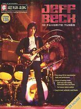 Jazz Play-Along Jeff Beck Clarinet Sax Saxophone Flute Woodwind Bass Music Book