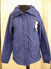 NWT $215 Lacoste Blue women's ladies jacket coat size T36 4