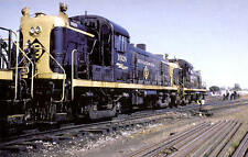 Erie-Lackawanna RS3 road switcher diesel locomotive train railroad postcard