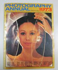 PHOTOGRAPHY ANNUAL 1973 International edition New York Ziff Davis