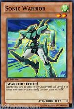 LTGY EN090 1ST ED 3X SONIC WARRIOR COMMON CARDS