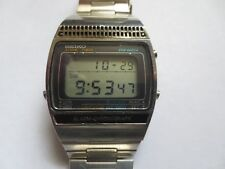 VERY RARE VINTAGE JAMES BOND 007 SEIKO A259 -5019 DIGITAL LCD WATCH