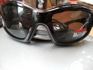 Brille bifocal Bikerbrille Motorradbrille mit Sehstärke im unteren Feld