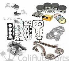 00-08 TOYOTA CELICA MATRIX 1.8L 1ZZFE DOHC OVERHAUL ENGINE REBUILD KIT (METAL)