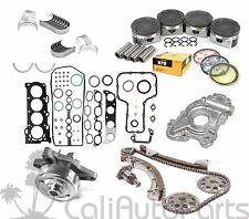 00-08 TOYOTA CELICA MATRIX 1.8L 1ZZFE DOHC OVERHAUL ENGINE REBUILD KIT (METAL)