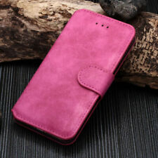 NEW LUXURY SUEDE LEATHER FLIP WALLET CASE COVER FOR APPLE IPHONE 5S 6S 7 8 PLUS