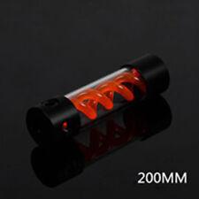 200mm Zylinder T Virus Reservoir Helix-Aufhängung Wasser Flüssigkeit Kühl Tank